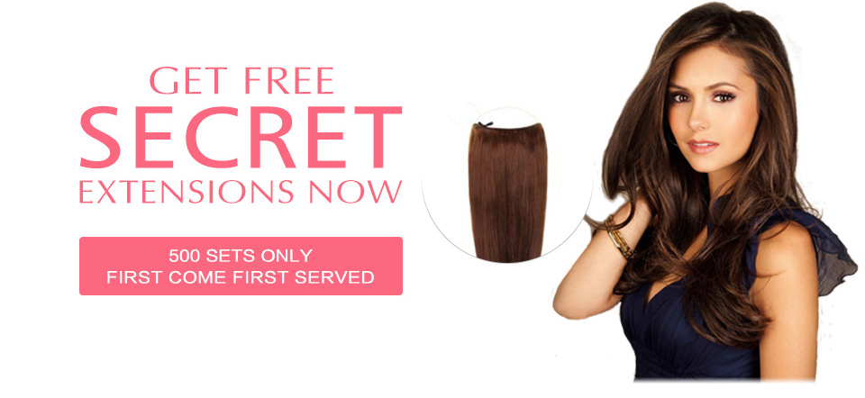 Get Free Secret Hair Extensions At Market Hair Extensions Uk