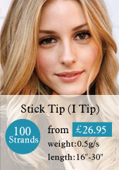 100 stands stick tips hair extensions